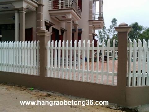 Hàng rào bê tông đóng thủ công Tại Thanh Hóa