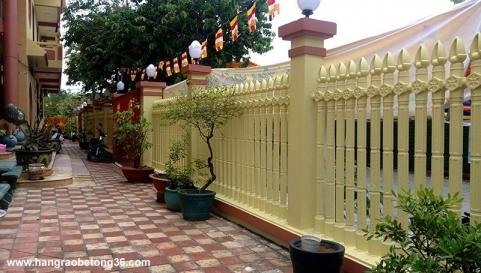 Hàng rào bê tông ly tâm Lục Giác