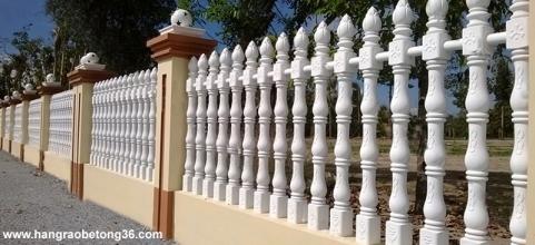 Hàng rào bê tông ly tâm Trúc Sen